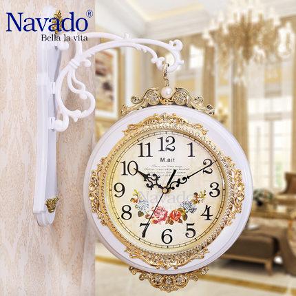 Đồng hồ treo tường nghệ thuật Navado