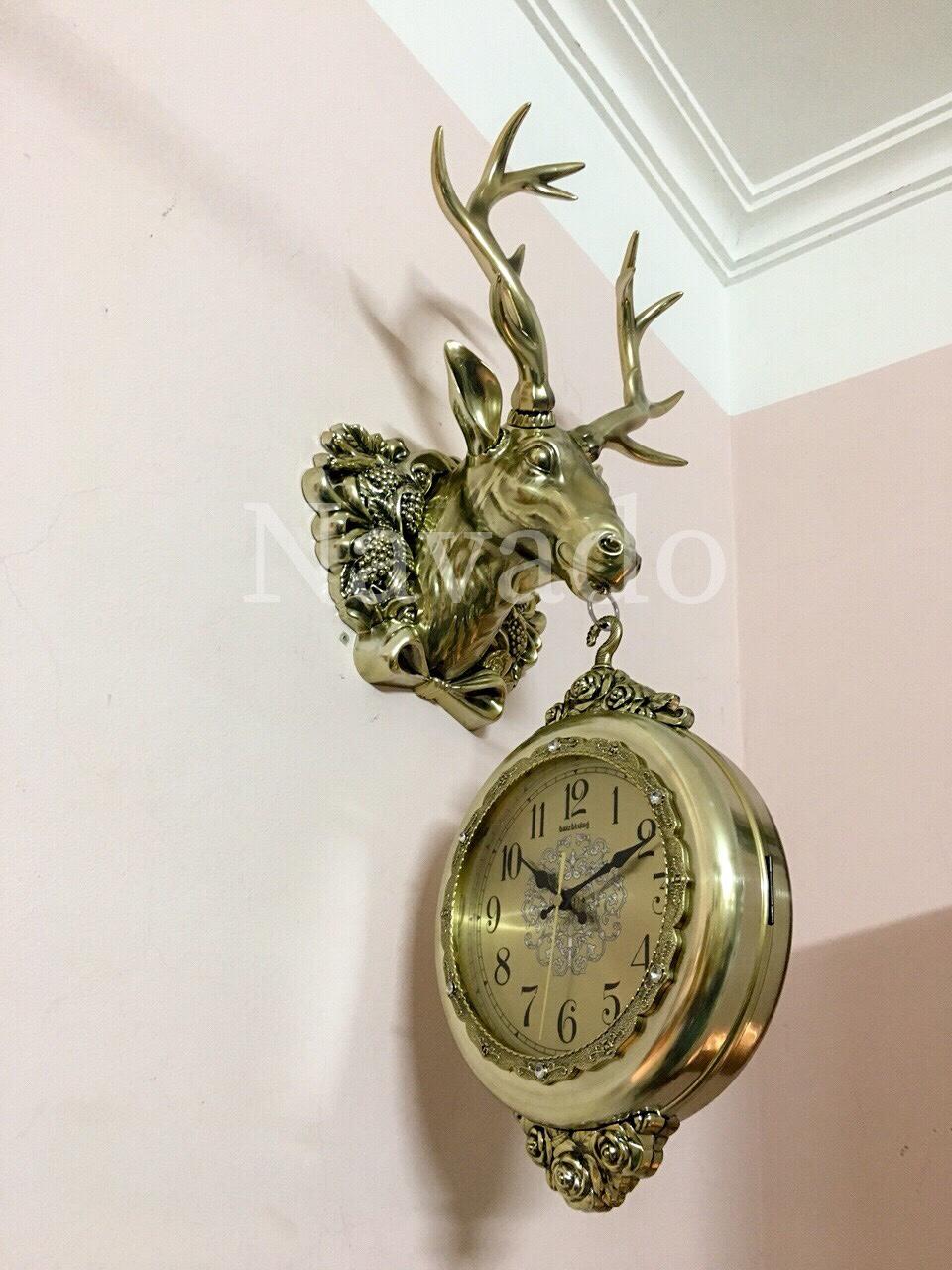 Đồng hồ trang trí Deer Angel.