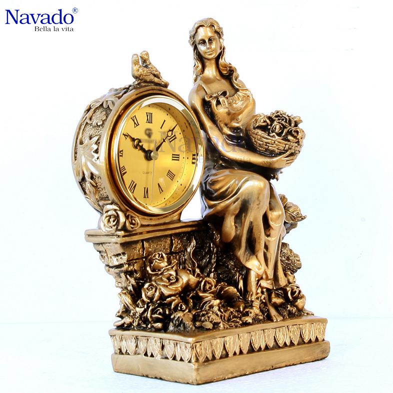 Đồng hồ trang trí Elise