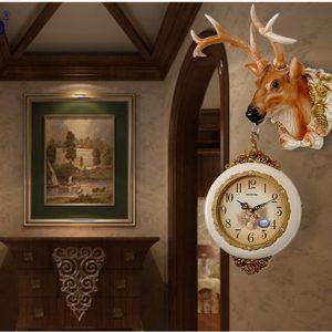 Đồng hồ treo tường con hươu