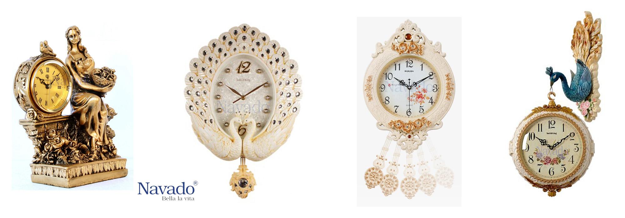 đồng hồ trang trí nghệ thuật Navado