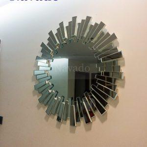 Gương nghệ thuật phòng khách Lion