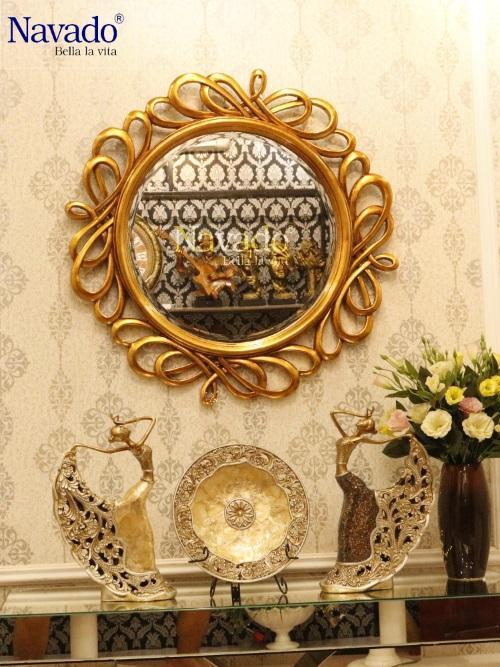 Gương trang trí phòng ngủ Hermes