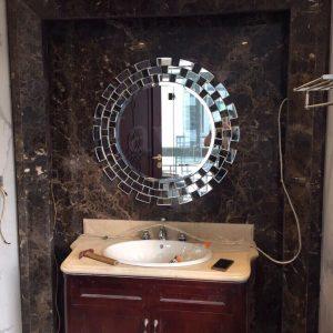 Gương treo tường phòng tắm Sunset 80cm