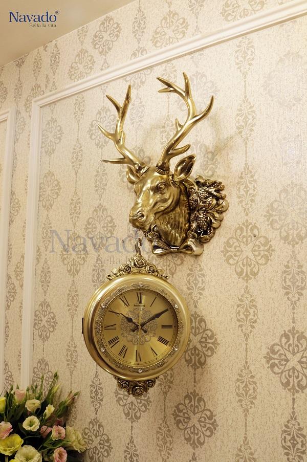 Đồng hồ decor treo tường sang trọng